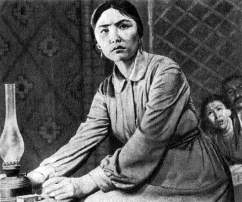 'Зной'. Реж. Л. Е. Шепитько. (Калила - К. Юсупджанова.) 1963