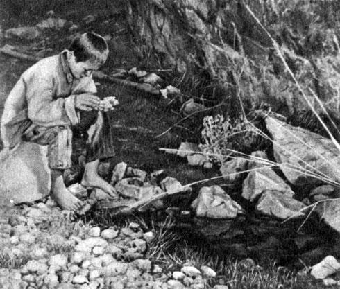 'Улыбка на камне'. Реж. У. М. Ибрагимов. (Акжолтой - С. Адылов.) 1975
