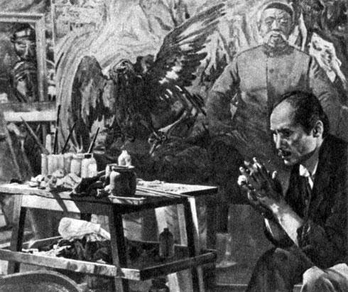 'Красное яблоко'. Реж. Т. О. Океев. (Темир - С. Чокморов.) 1975