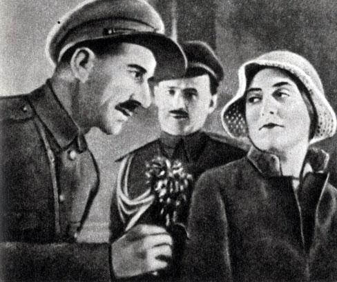'Кикос'. Реж. П. Бархударян. (Слева Кикос - А. Хачанян.) 1931