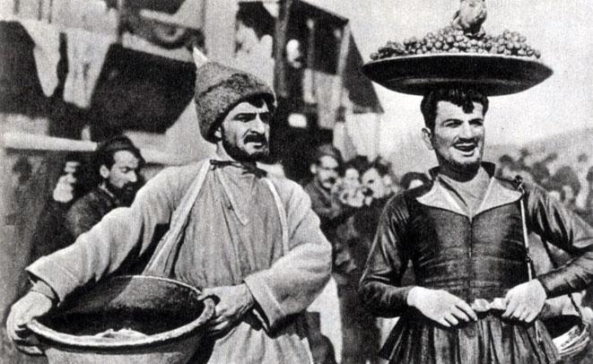 'Пэпо', Реж. А. Бек-Назаров. (Пэпо - Г. Нерсесян, Какули - Д. Малян.) 1935