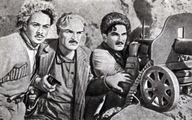 'Зангезур'. Реж. А. Бек-Назаров. (В центре Акопян - Г. Нерсесян.) 1938