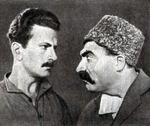 'Горный марш'. Реж. С. Кеворков. (Вартан - Д. Малян, Амо - А. Аве-Цтисян.) 1939