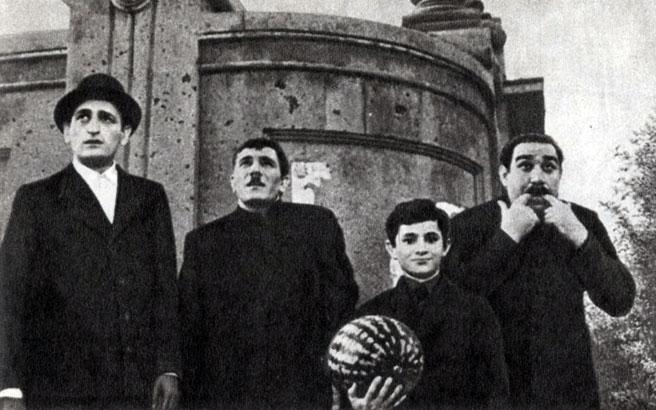 'Треугольник'. Реж. Г. Малян. 1967