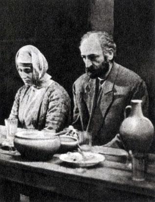 'Наапет'. Реж. Г. Малян. (Наапет - С. Саркисян, Нубар - С. Саргаян.) 1977
