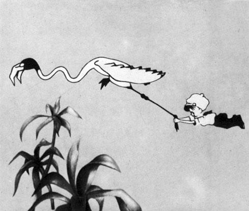 'Сенька-африканец'. Реж. и худ. Д. Черкес, Ю. Меркулов, И. Иванов-Вано. 1928