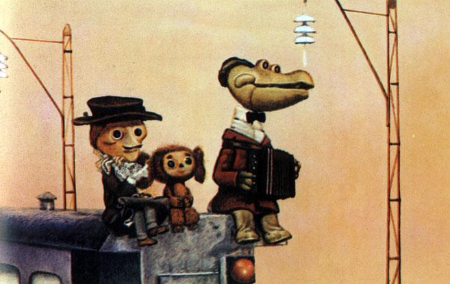 'Шапокляк'. Реж. Р. Качанов, худ. Л. Шварцман. 1974