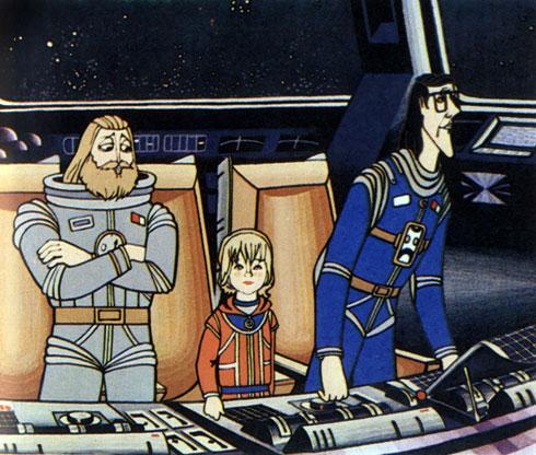 'Тайна третьей планеты'. Реж. Р. Качанов, худ. Н. Орлова. 1981