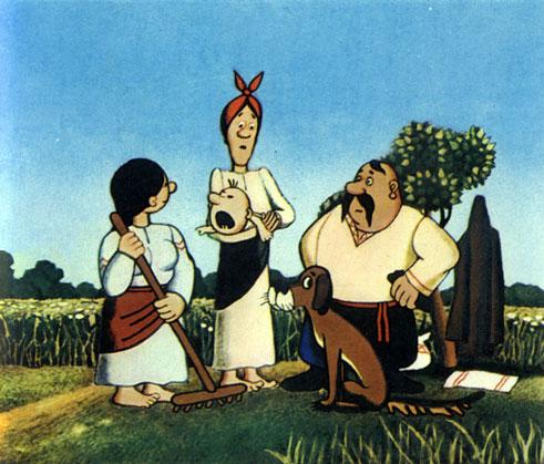 'Жил-был пёс'. Реж. и худ. Э. Назаров. 1982