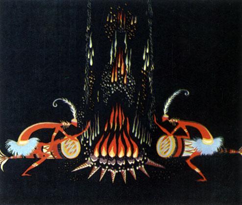 'Закон племени'. Реж. В. Пекарь, худ. Т. Колюшева. 1982