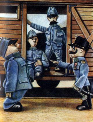 'Похождения бравого солдата Швейка'. Реж. Й. Трнка (ЧССР). 1955