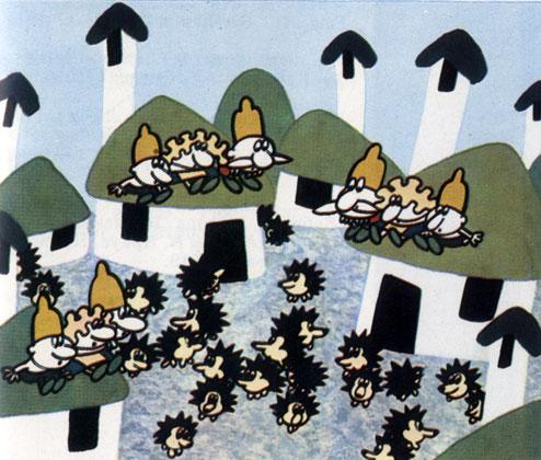 'Умная деревня'. Реж. Д. Донев (НРБ). 1972