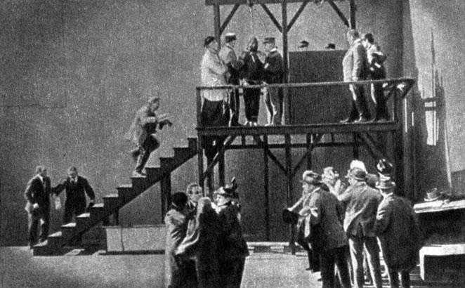 'Нетерпимость'. Реж. Д. У. Гриффит. 1916