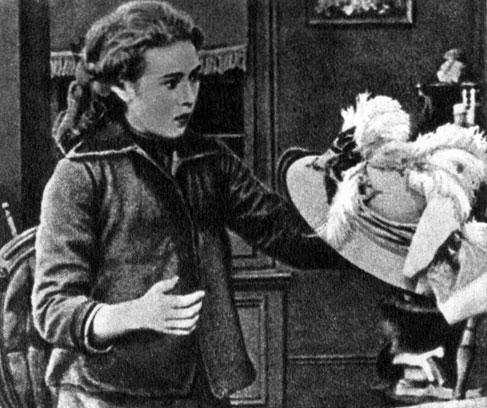 'Нью-йоркская шляпка'. Реж. Д. У. Гриффит. (Актриса М. Пикфорд.) 1912