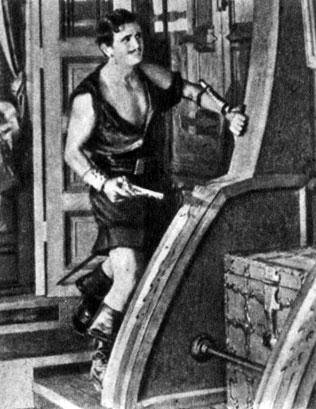 'Чёрный пират'. Реж. А. Паркер. (Актёр Д. Фэрбенкс.) 1926