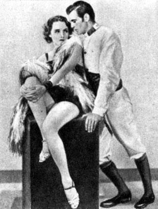 'Марокко'. Реж. Дж. Штернберг. (Актёры М. Дитрих и Г. Купер.) 1930