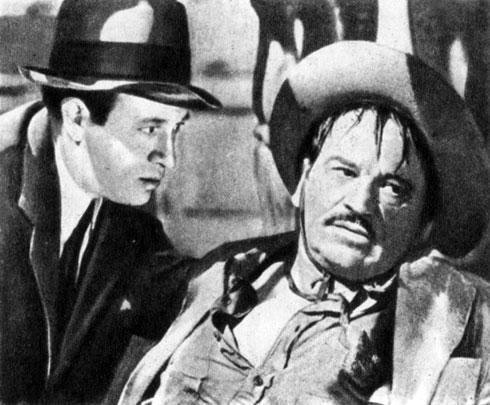 'Да здравствует Вилья!'. Реж. Дж. Конвей. (Справа - актёр У. Бири.) 1934