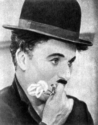 'Огни большого города'. Реж. Ч. С. Чаплин. (Чарли - Ч. С. Чаплин.) 1931