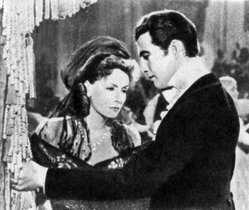 'Дама с камелиями'. Реж. Дж. Кьюкор. (Маргарита - Г. Гарбо, Арман - Р. Тейлор.) 1936
