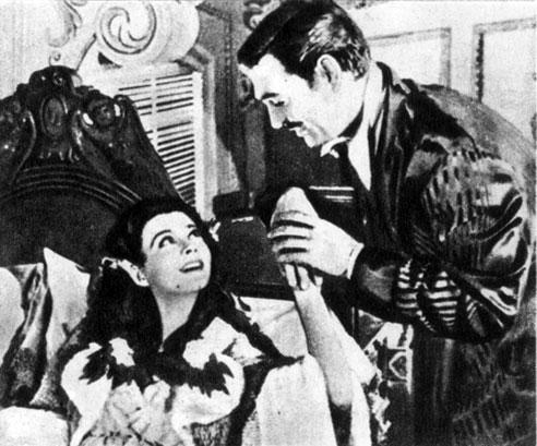 'Унесенные ветром'. Реж. В. Флеминг. (Скарлет О'Хара - В. Ли, Ретт Батлер - К. Гейбл.) 1939