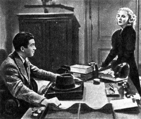 'Мистер Смит едет в Вашингтон'. Реж. Ф. Капра. (Актеры Дж. Стюарт и Д. Артур.) 1939