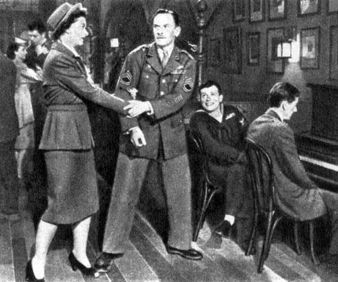 'Лучшие годы нашей жизни'. Реж. У. Уайлер. (Милли - М. Лой, Эл Стефансон - Ф. Марч.) 1946