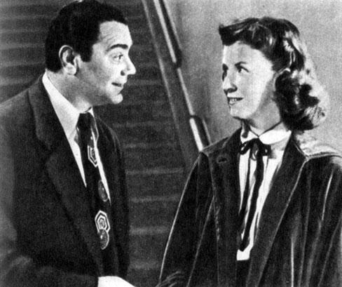 'Марти'. Реж. Д. Манн. (Актёры Э. Боргнин и Б. Блер.) 1955