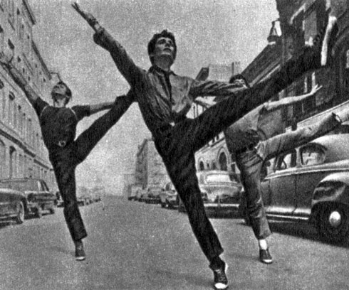 'Вестсайдская история'. Реж. Р. Уайз, хореограф Дж. Роббинс, 1961