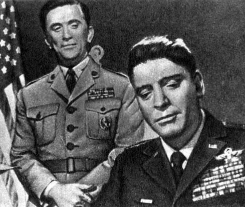 'Семь дней в мае'. Реж. Дж. Франкенхеймер. (Актёры К. Дуглас и Б. Ланкастер.) 1964
