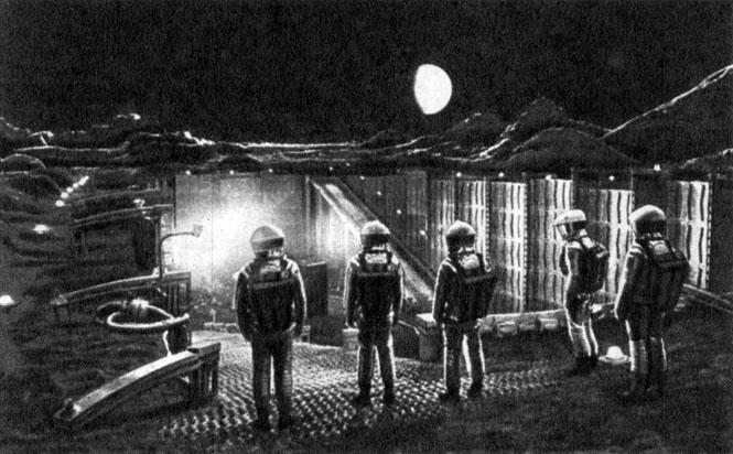 '2001: Космическая одиссея'. Реж. С. Кубрик, 1968