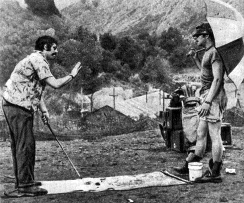 'М. A. S. Н.'. Реж. Р. Олтмен. (Макинта - Э. Гулд, Пирс - Д. Сазерленд.) 1970