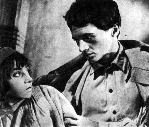 'Дети Памира'. Реж. В. Мотыль. (Сафар - Н. Хасанов, сын судьи Акбархан - О. Тулаев.) 1963