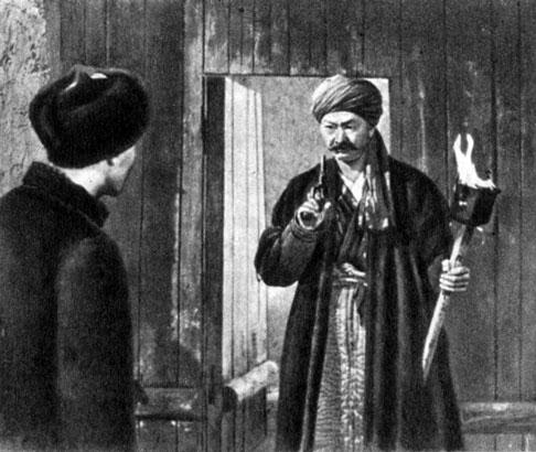 'Тайна забытой переправы'. Реж. С. Хамидов. (Саттор - Б. Бейшеналиев.) 1974