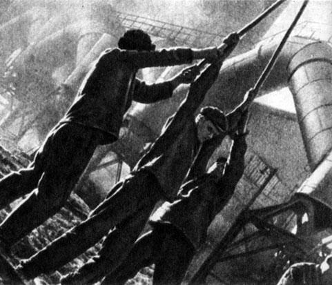 'Симфония Донбасса'. Реж. Д. Вертов. 1930