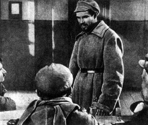 'Арсенал'. Реж. А. Довженко. (Тимош - С. Свашенко.) 1929