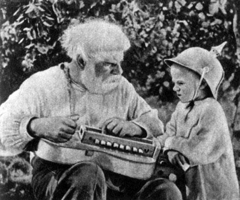 'Дума про казака Голоту'. Реж. И. Савченко. (Дедлирник - Н. Соколов.) 1937
