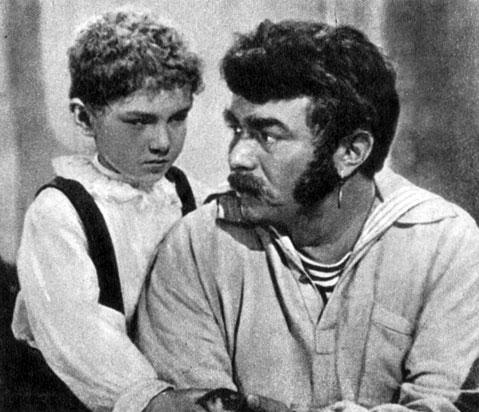 'Матрос Чижик'. Реж. В. Браун. (Матрос Чижик - М. Кузнецов.) 1956