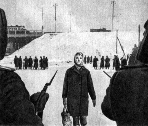 'Верность'. Реж. П. Тодоровский. (Зоя - Г. Польских.) 1965