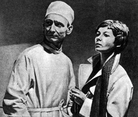 'Время жить, время любить'. Реж. B. Кяспер. (Актёры М. Клоорен, А. Заре.) 1977