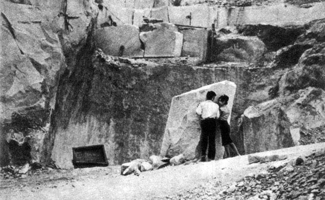 'Прометей с острова Вишевице'. Реж. В. Мимица. 1965