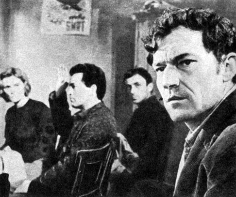 'Лицом к лицу'. Реж. Б. Бауэр. 1964
