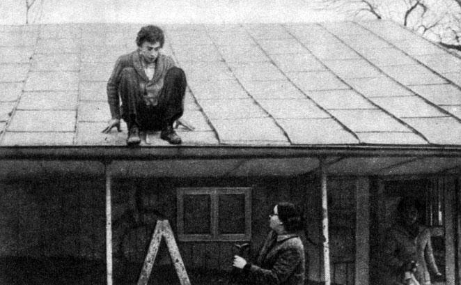 'Сторож пляжа в зимний сезон'. Реж. Г. Паскалевич. 1975