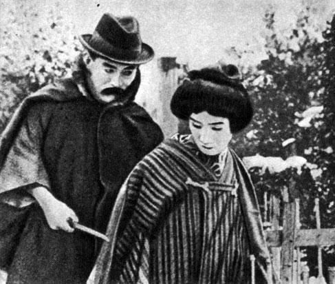 'Живой труп'. Реж. Э. Танака. 1918