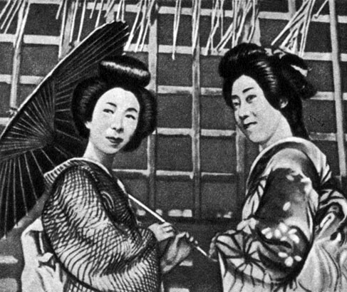 'Гионские сестры'. Реж. К. Мидзогути. 1936