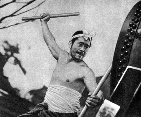 'Жизнь Мухомацу'. Реж. X. Инагаки. (Актёр Т. Мифунэ.) 1943