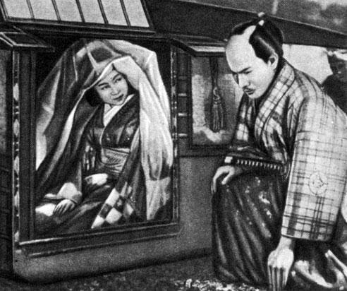 'Женщина Сайкаку'. Реж. К. Мидзогути. 1952