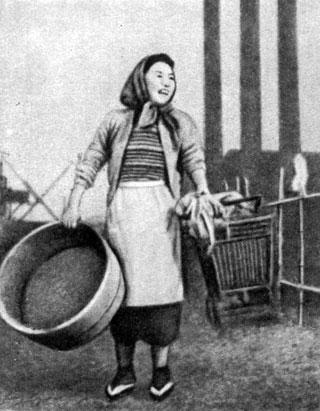 'Там, откуда видны фабричные трубы'. Реж. X. Госё. 1953