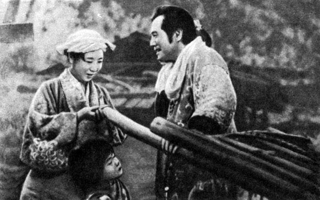 'Луна в тумане'. Реж. К. Мидзогути. 1953