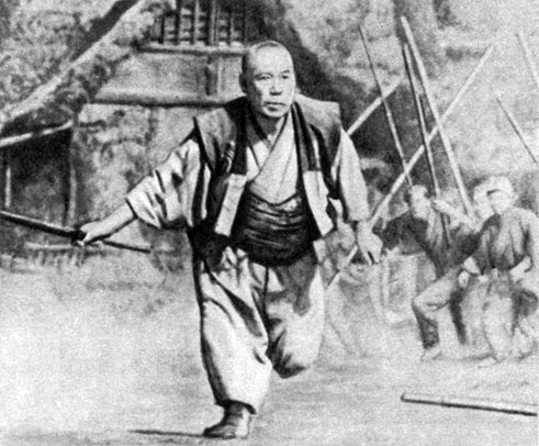 'Семь самураев'. Реж. А. Куросава. (Актёр Т. Симура.) 1954