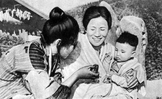 'Песня тележки'. Реж. С. Ямамото. 1959